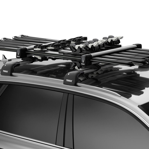 Thule 7326 - SnowPack Ski and Snowboard Rack (6 Pairs of Ski's or 4 X planches à neige )