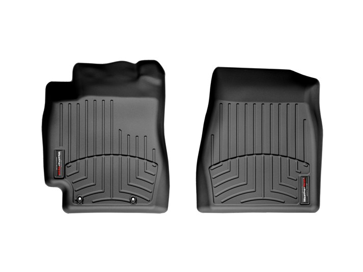 Weathertech® • 440511 • FloorLiner™ • Molded Floor Liners • Black • First Row