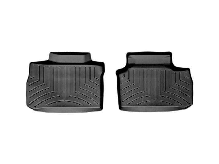 Weathertech® • 440692 • FloorLiner™ • Molded Floor Liners • Black • Second Row