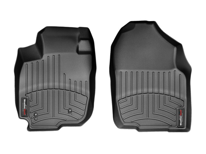 Weathertech® • 440721 • FloorLiner™ • Molded Floor Liners • Black • First Row