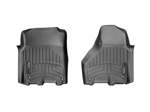 Weathertech® • 4415451 • FloorLiner™ • Molded Floor Liners • Black • First Row