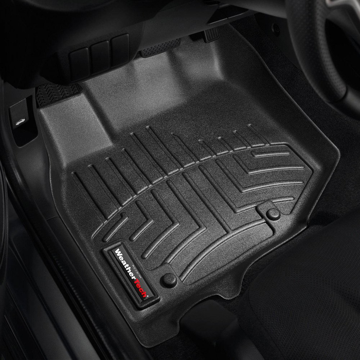 Weathertech® • 441811 • FloorLiner™ • Molded Floor Liners • Black • First Row
