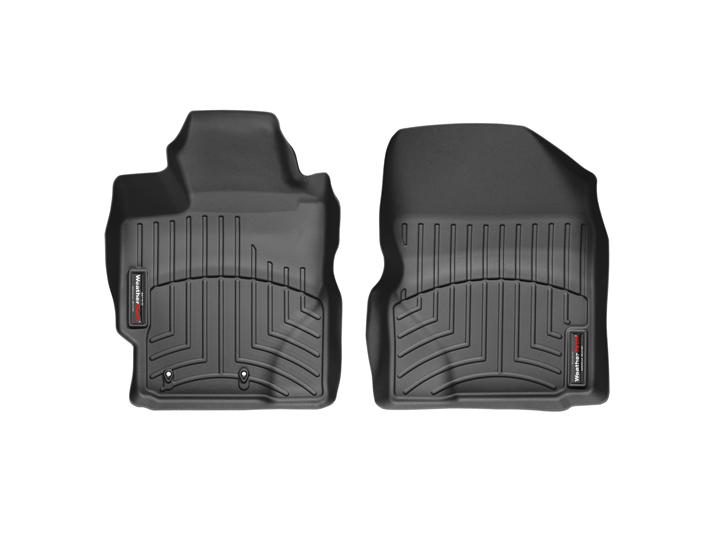 Weathertech® • 442271 • FloorLiner™ • Molded Floor Liners • Black • First Row