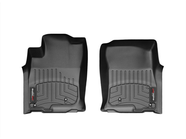 Weathertech® • 443611 • FloorLiner™ • Molded Floor Liners • Black • First Row