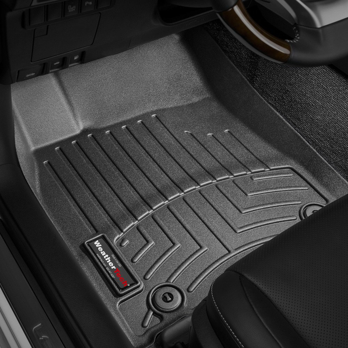 Weathertech® • 444761 • FloorLiner™ • Molded Floor Liners • Black • First Row