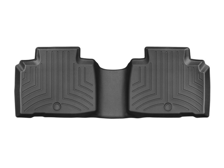 Weathertech® • 448452 • FloorLiner™ • Molded Floor Liners • Black • Second Row