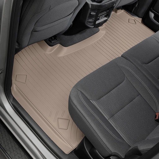 Weathertech® • 4514282 • FloorLiner™ • Molded Floor Liners • Tan • Second Row