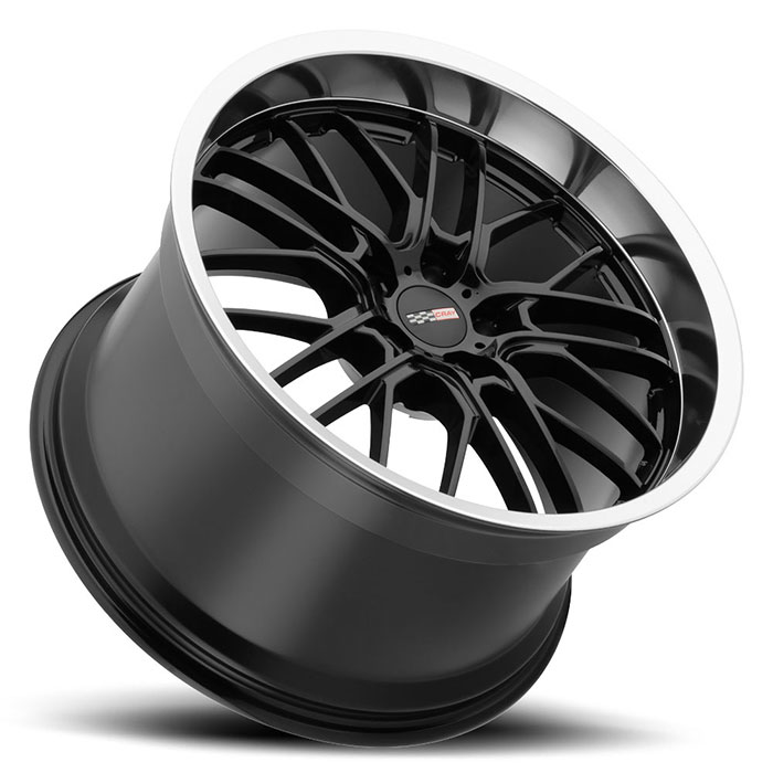 Cray® • 1990CRE505121B70 • Eagle • Gloss Black with Mirror Cut Lip • 19x9 5x120.7 ET50 CB70.3