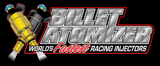 Billet Atomizer Fuel Injectors (All Sizes)