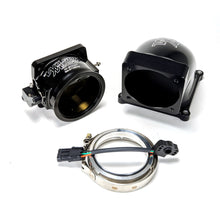 105mm Hi-Boost Throttle Body + Billet Elbow Combo (Black)