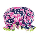 Boho Shower Cap Animal Print