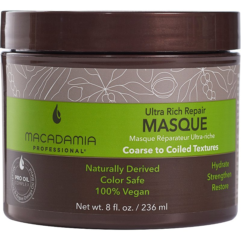 Macadamia Ultra Rich Moisture Masque By Macadamia - 8 Oz Masque