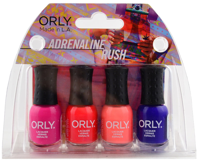 Summer 2015 Adrenaline Rush 4pc Mani Mini Kit