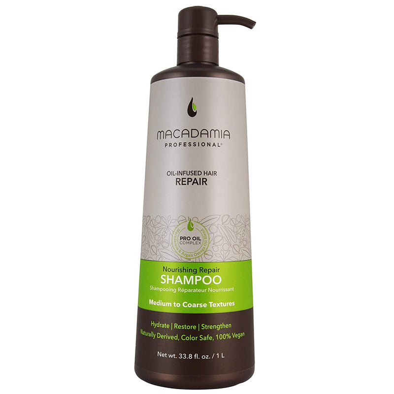 Macadamia Nourishing Repair Shampoo 1000Ml/33.8Oz