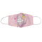 Orly Youth Fashion Cotton Face Mask In Pink, Washable And Reusable With Elastic Straps