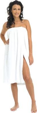Terry Body Wrap - White