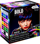 Framcolor BOLD Prepack- (1) 2 oz/60ml tube each: BOLD Electric Blue: BOLD Cobalt Blue: BOLD  Violet: BOLD Red: BOLD Pink and BOLD Rose Gold