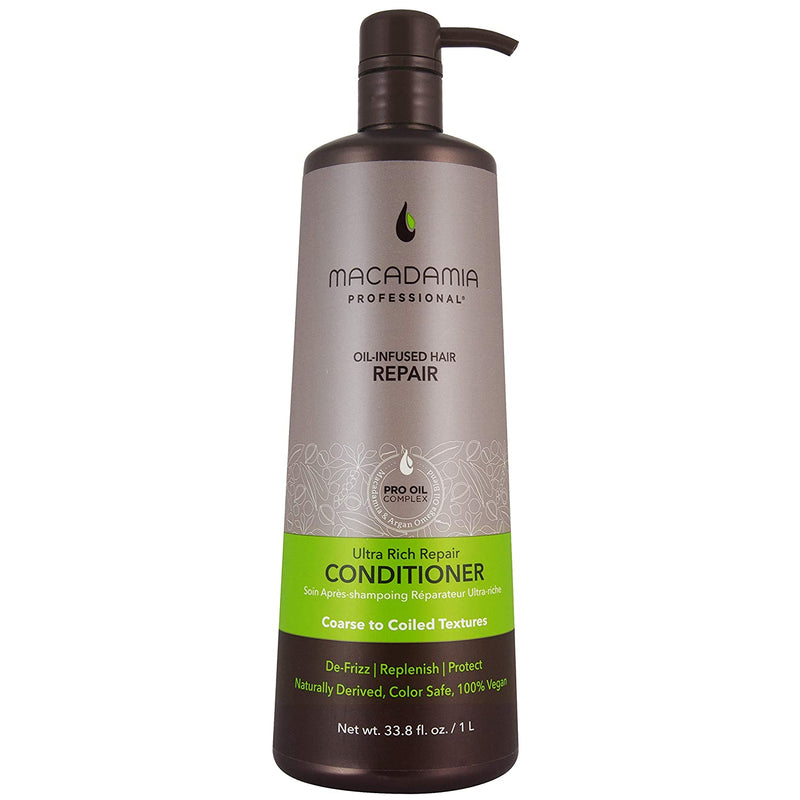 Macadamia Ultra Rich Moisture Conditioner - 33.8 Oz