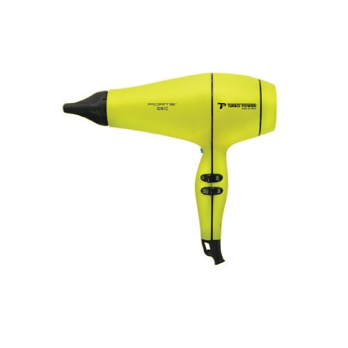 Turbo Power Forte Professional Hair Dryer - Yellow & Black - 318