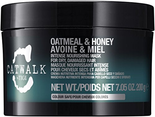 Tigi Catwalk Oatmeal and Honey Intense Nourishing Mask for Unisex, 7.05 Ounce
