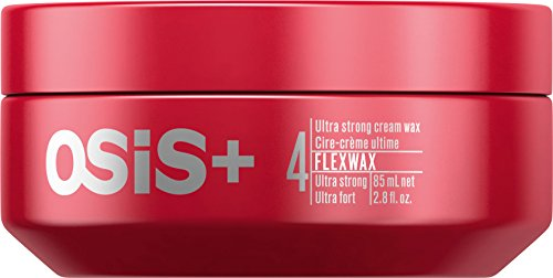 OSiS+ FLEXWAX Ultra Strong Cream Wax, 2.8-Ounce
