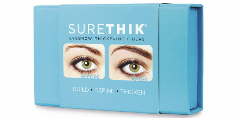 SureThik Eyebrow Thickening Fibers - Color : Light Brown