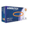 Ambitex V5201 Powder Free Vinyl Gloves, Size Medium, Box Of 100