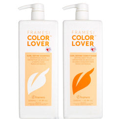 Color Lover Curl Define Shampoo & Conditioner Liter Duo