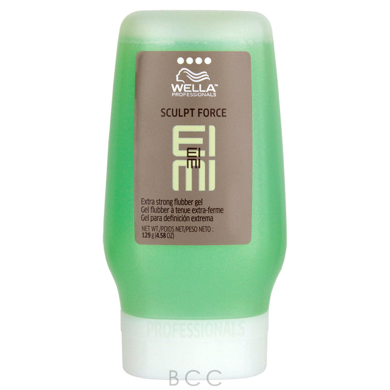 Wella Eimi Sculpt Force Extra Strong Flubber Gel, 4.58 Ounce