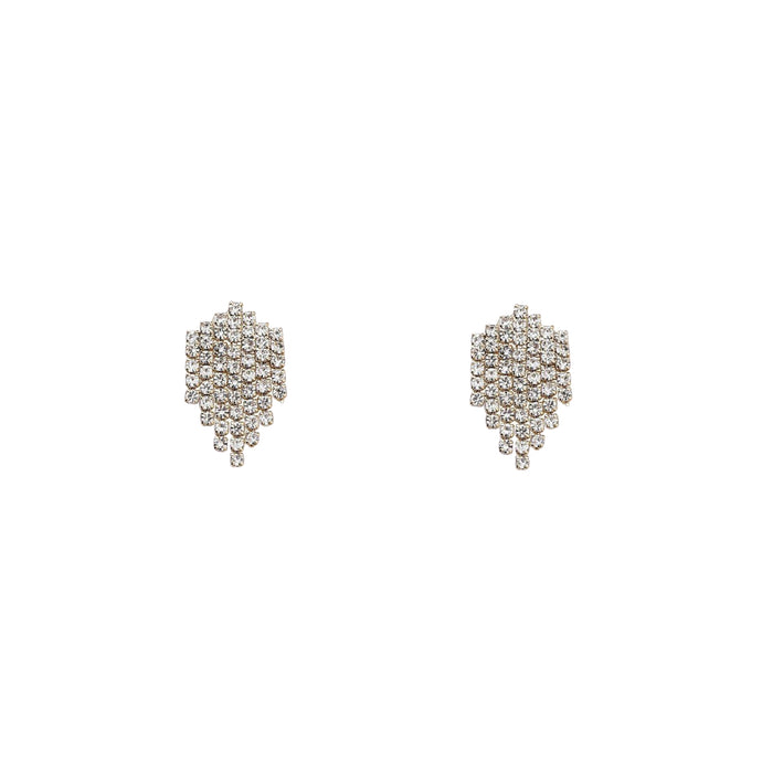 Ellie Ziron Chain Stud Earrings