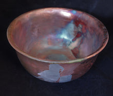 Load image into Gallery viewer, Raku Fired Barrel Racing Bowl
