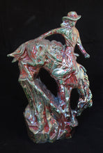 Load image into Gallery viewer, Raku Fired Ceramic Horse Statue