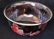 Load image into Gallery viewer, Raku Fired Cutting Horse Bowl