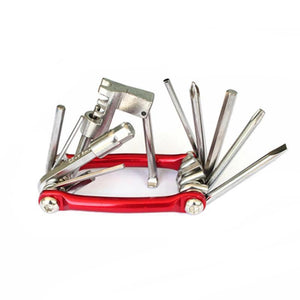 11 In 1 MTB Road Bike Bicycle Multifunctional Mini Repair Folding Tools - AmericanGalore