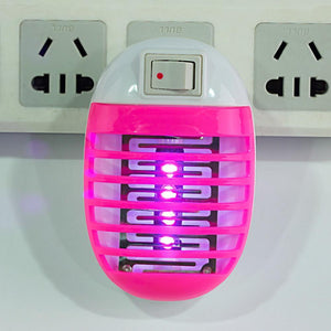 Electric Mosquito Fly Bug Insect Trap Zapper Killer LED Night Lamp US Plug 220V - AmericanGalore