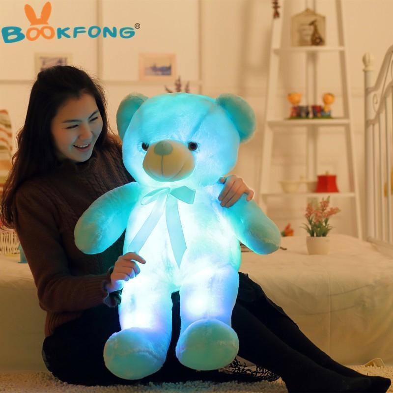 LED Teddy Bear AmericanGalore