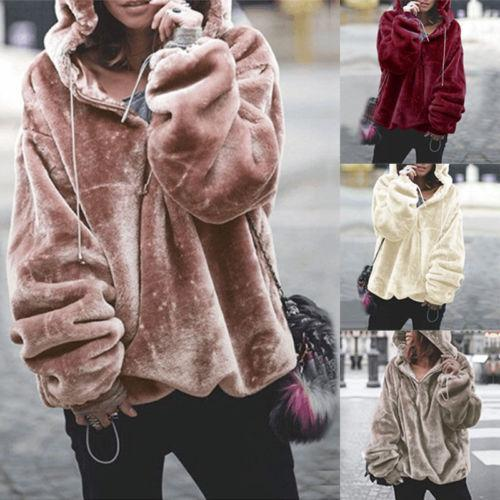 Long Sleeve Hoodie Sweatshirt Hooded Jumper Sweater Pullover Tops Coat AmericanGalore