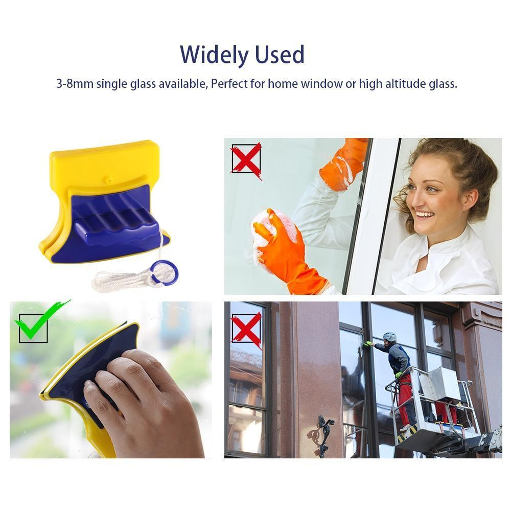 Magnetic Double-sided Window Glass Cleaner - AmericanGalore