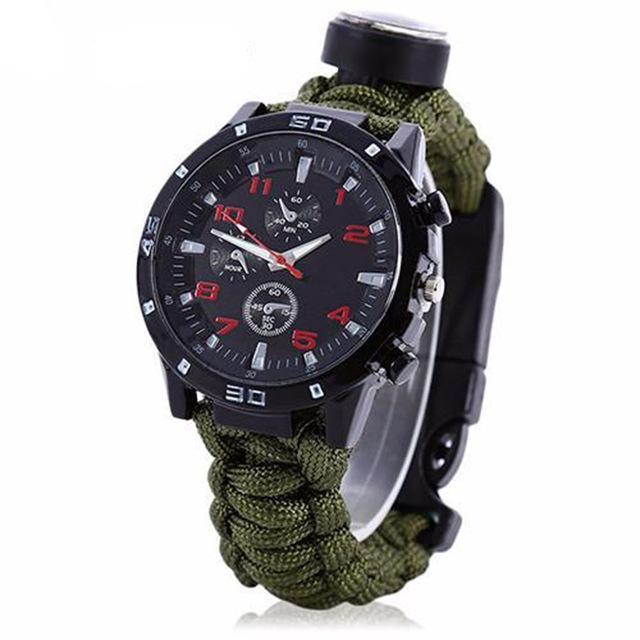 The Military Survivalist Watch AmericanGalore Army Green