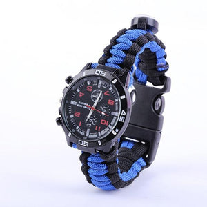 The Military Survivalist Watch AmericanGalore Blue