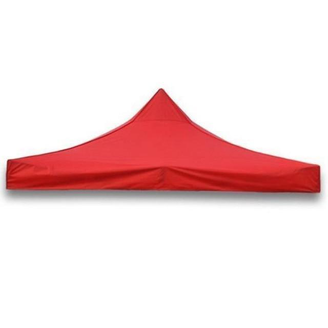 Waterproof Pop Up Canopy Market Sun Shade AmericanGalore Red