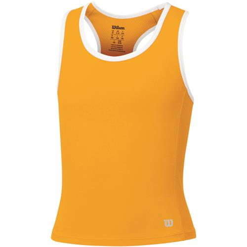 Wilson Girls Spring Rush Tank - Orange PopOrange Pop
