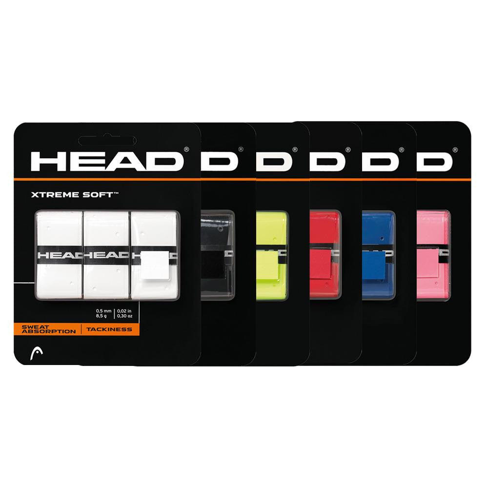 HEAD XTREME Soft Overgrips 3 Pack ?id=27051449044