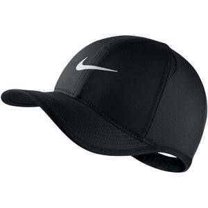Nike Junior Featherlight Hat - Black/White