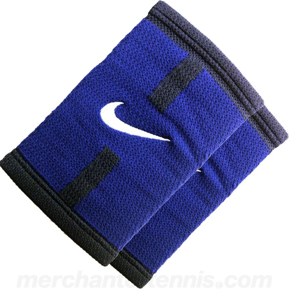 Nike DriFit Court Logo Doublewide Wristbands Royal