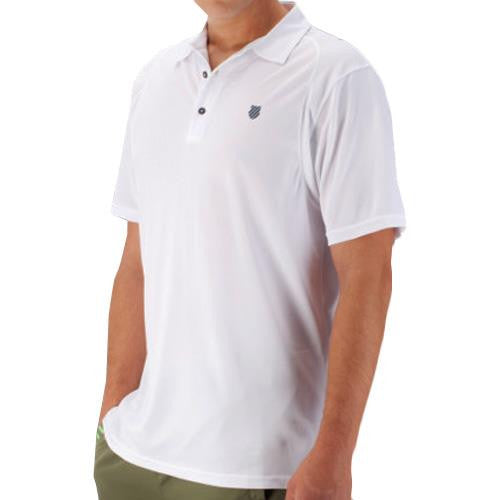 K-Swiss Men's 2016 Spring B2 Polo White