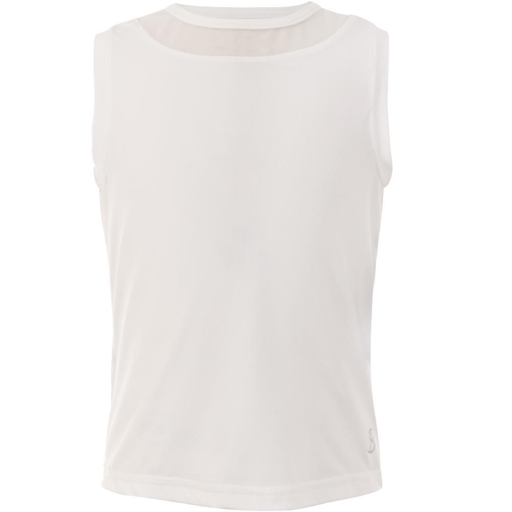 Sofibella Girls Sleeveless Tank - White