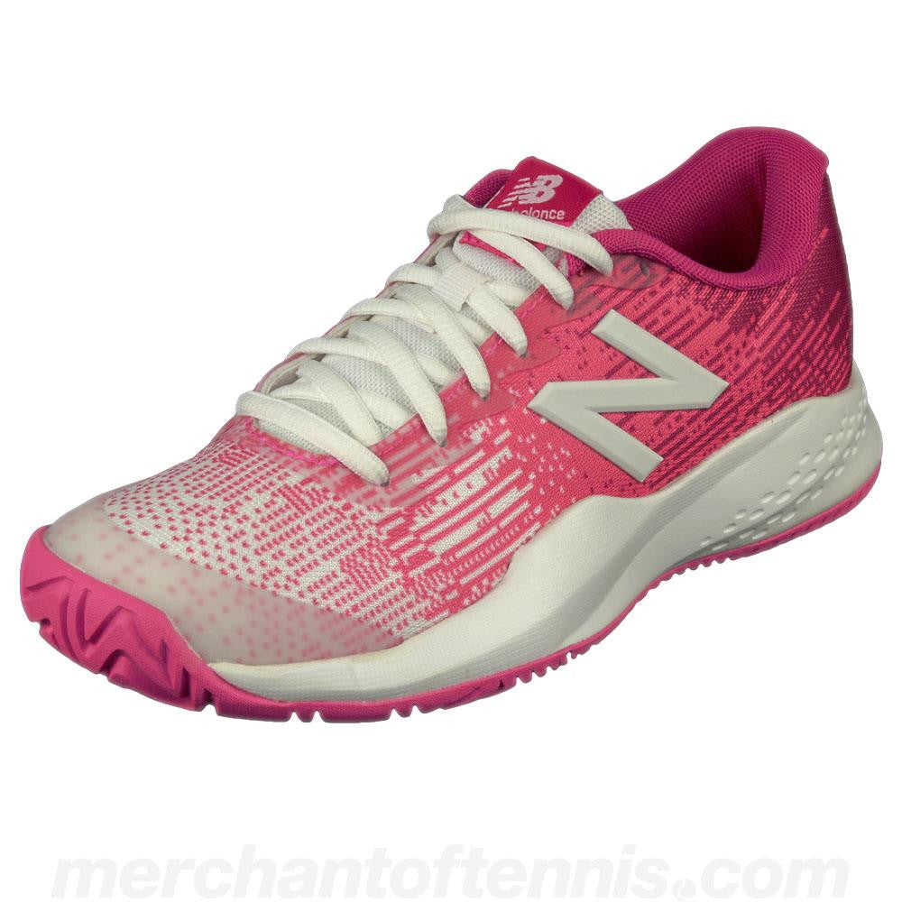 New Balance Junior KC996v3 - Pink/White