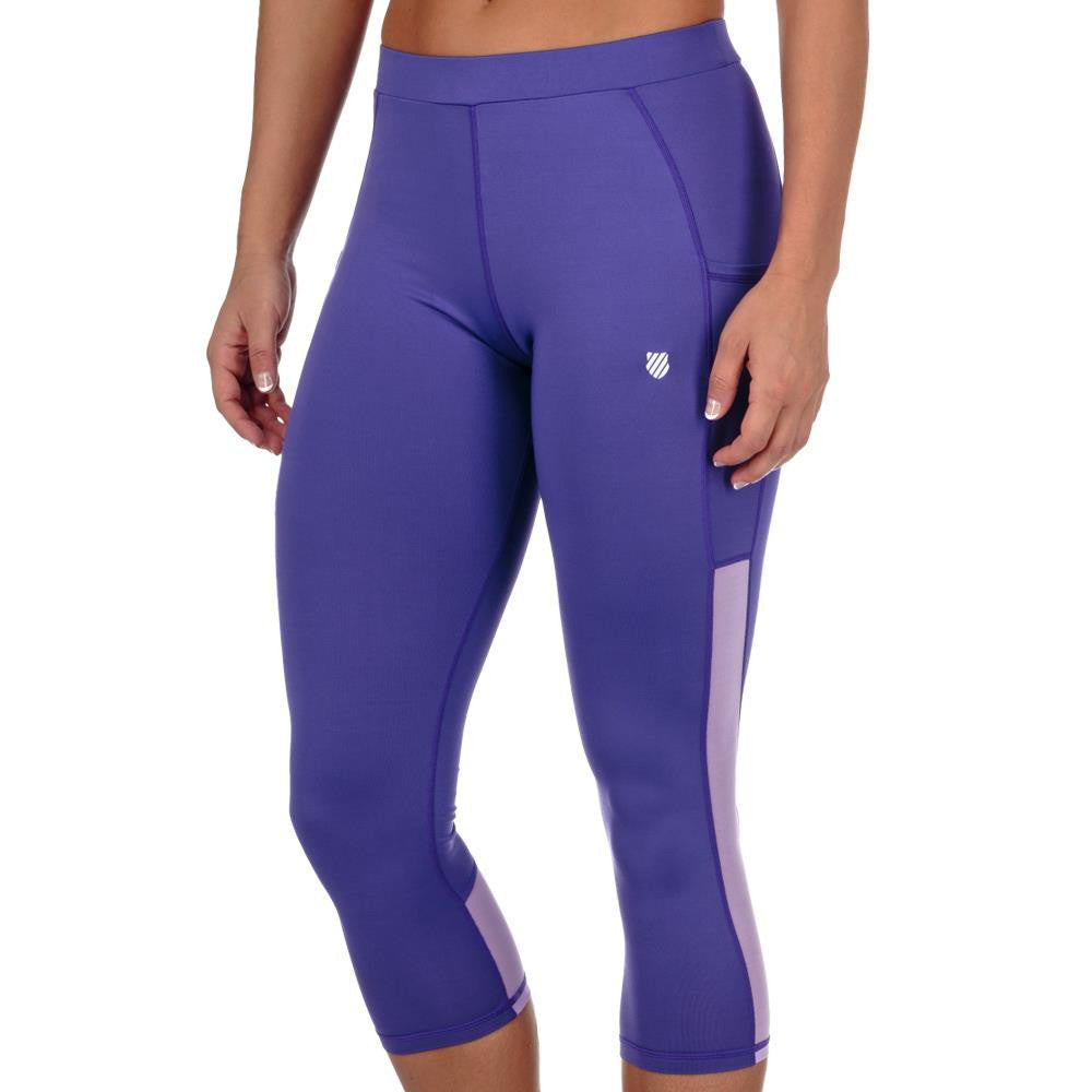 KSwiss Women's Spring Tight Capri Purple