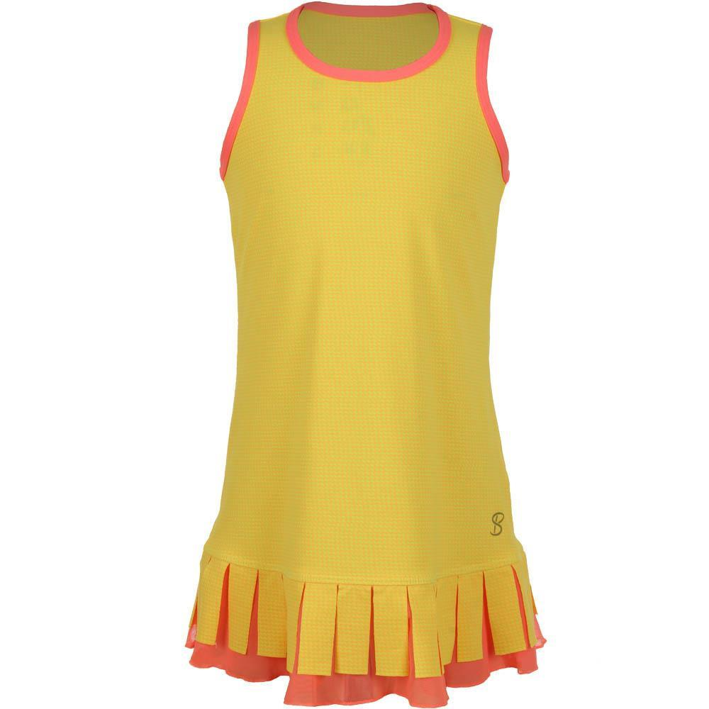 Sofibella Girls Checkmate Full Back Tank Dress